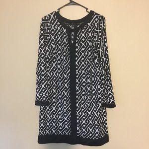 Sheath dress long sleeve petite large